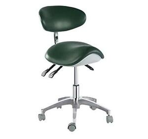Dentist Chair Dental Mobile Chair Saddle Chair Doctor s Stool Pu Leather New