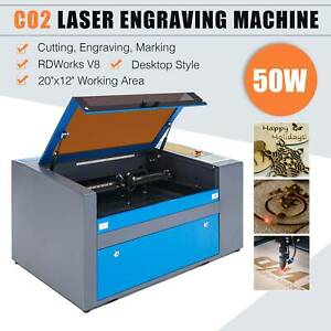 50w Co2 Usb Port Laser Engraving Cutting Machine 300 X 500mm Engraver Cutter