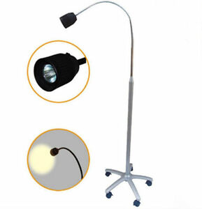 Dental Mobile Stand Type Led Halogen Exam Light Micare Micare Jd1500 New