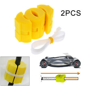 2pcs Magnetic Fuel Saver For Vehicle Gas Universal Reduce Emission Powermag