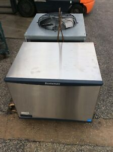 Scotsman 500lb Cube Ice Machine Air Cooled Remote Condenser