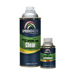 Automotive Clear Coat Fast Dry Urethane Smr 130p 60 Fast Pint Clearcoat Kit