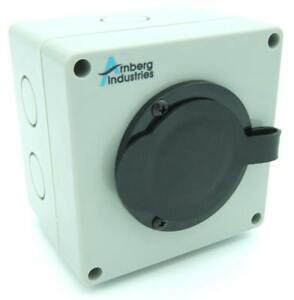 20 Amp Generator Inlet Box Ai pb20 Power Cord Inlet For Transfer Switch