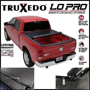 Truxedo Lo Pro Qt Roll Up Tonneau Cover Fits 2001 2006 Tundra 6 Bed W bed Caps
