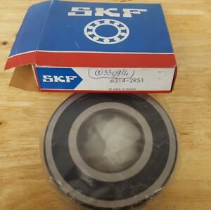 6314 2rs1 Skf New Single Row Ball Bearing
