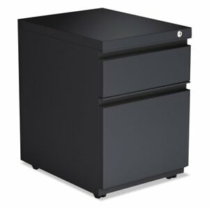 Alera 2 Drawer Metal Lip Pedestal File Cabinet