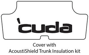 1970 1974 Plymouth cuda Trunk Rubber Floor Mat Cover With Me 013 cuda