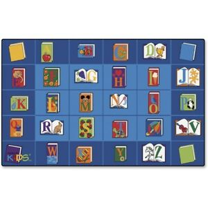 Carpets For Kids Reading Book Rectangle Seating Rug Cpt2600