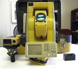Topcon Gts 901a Gts 900a Series 1 Robotic Total Station With Rc 3r Remote