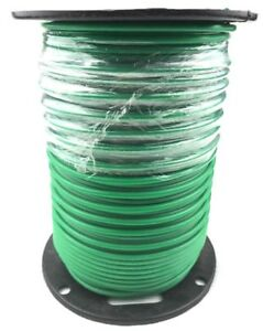 Ground Wire Solid Copper 10 Awg Green Jacket 500 Ft