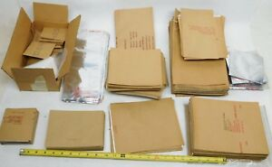 Large Lot Kraft Foil Barrier Paper Heat seal Bags Packaging Various Sizes Hb