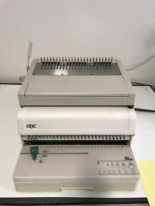 Gbc 111pm 3 Paper Punch With Comb Die And Manual Comb Binder Model Hb24 14