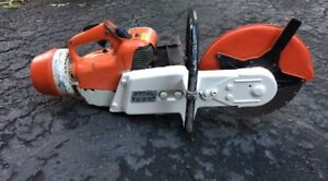 Stihl Ts 350 12 Concrete Saw gas Powered please Read Description