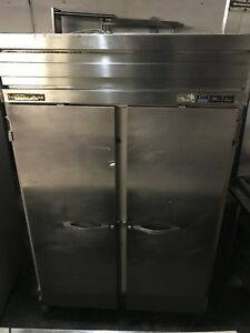 Beverage Air Hf21s 52 Two Section Reach in Freezer 2 Solid Doors 115v