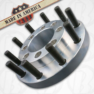 Usa 8 Lug To 10 Lug 8x6 5 To 22 5 Semi Wheel Adapters 2 5 Chevy Gm Bore