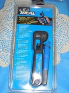 Ideal 30 603uniseal Compression Tool For Coax F connectors Catv