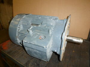 Used Works Siemens Electric Motor 8 6 Kw 11 7 Hp 3 Phase 1160 Rpm 460 Volts Only