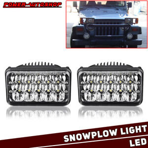 Led Headlights Upgrade For Blizzard Snowplow Snow Plow 680lt 720lt 810 Pair