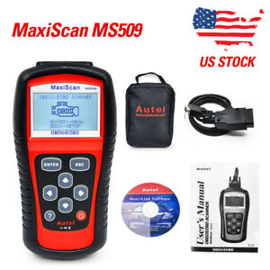 Maxiscan Ms509 Kw808 Obdii Eobd Scanner Car Code Reader Tester Diagnostic Us