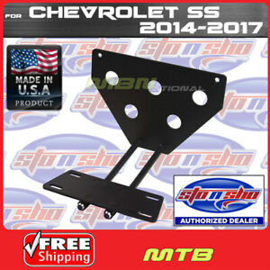 14 17 For Chevy Ss Q release License Plate Mounting Relocator Sns49 Sto N Sho