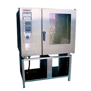 Will Ship Rational Cpc 102 G Climaplus Combi Natural Gas 3ph Commercial Oven