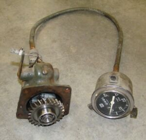 Wisconsin Vf4d Governor With Tachometer