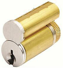 Gms Large Format Ic Core Schlage C Keyway Satin Chrome Finish Per 2 Each