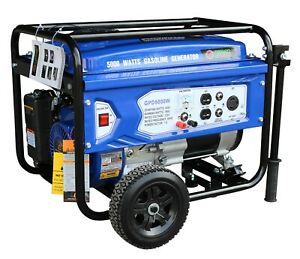 Miami Pickup Sigma 4000 Watts 7 Hp 212cc Generator Epa Gfci Outlet Protection