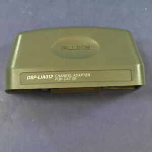 New Fluke Dsp lia012 Channel Adapter For Cat 5e Very Good Condition
