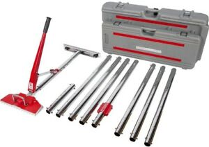 Roberts Carpet Stretcher 17 Locking Positions 18 In Tail Block Wheels Value Kit