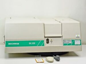 Beckman Coulter Spectrophotometer cart Not Included du 640