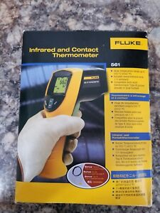 Fluke 561 Pro Ir Infrared Heating Cooling Laser Digital Thermometer new Other