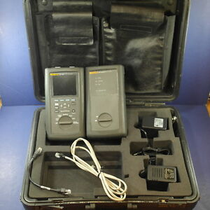 Fluke Dsp 2000 Network Cable Analyzer Dsp 2000sr Smart Remote Good Condition