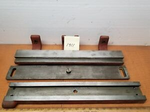 Hendey Lathe12 Taper Attachment Slide s 62 57 49 45 and46 Mint Antique Cond