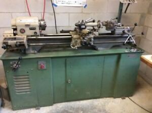 Rockwell 10 Inch Matel Lathe With Taper Attachment And 6 Position Terrett