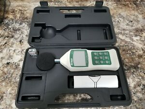 Extech 407750 Sound Level Meter Digital W rs232