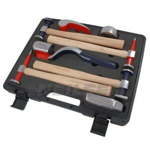Auto Body Repair Kit Panel Beating Hammers And Dollys Classic Car Restoration