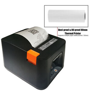 Esc pos Thermal Usb Dot Wired Receipt Printer 80mm 300mm s Print Auto Cut New Ma