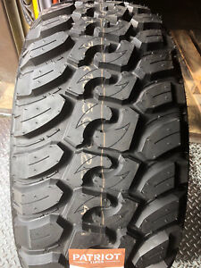 1 New 33x12 50r17 Patriot Mt Mud Tires M t 33125017 R17 1250 12 50 33 17 Lt Lre