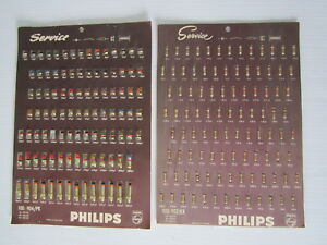 Nos Vintage Phillips Service Transistor Resistor Lot Made In Holland