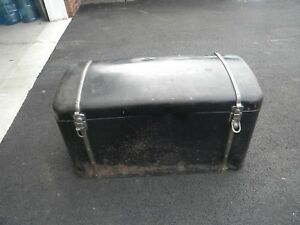 Original 1929 Ford Model A Trunk Vintage Metal Car Trunk Luggage Carrier