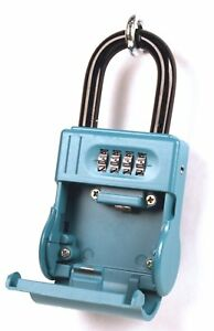 Shurlok Sl600 Blue 4 Number Combo Key Box W Shackle Realtor Security Mgmt