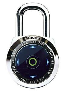 Master Lock Padlock Dialspeed Set Your Own Combination Digital Lock 2 1 1