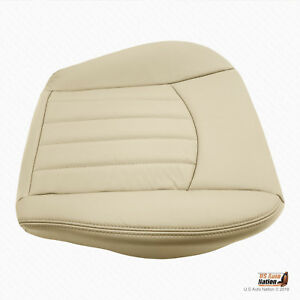 2002 2003 2004 Jaguar X Type Passenger Bottom Synthetic Leather Seat Cover Tan
