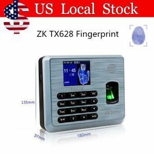 Zk High performance Time Attendance Applications Time Clock tcp ip Silver