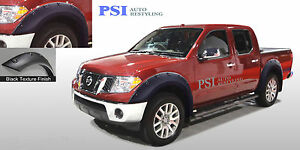 Black Textured Pop Out Fender Flares 05 14 Fits Nissan Frontier 58 6 59 5 Bed