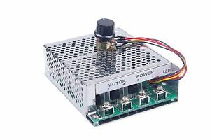 Knacro Brushed Dc Motor Controller Dc9 55v 60a Pwm Stepless Electronic Speed