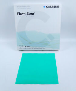 Hygenic Latex Dental Rubber Dam Sheet Endodontic Root Canal Instrument 1pack