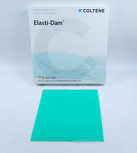 Coltene Hygenic Latex Dental Rubber Dam Sheet Endodontic Root Canal Instrument
