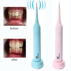 Portable Electric Sonic Dental Calculus Remover Scaler Tooth Stains Tool 3 Modes